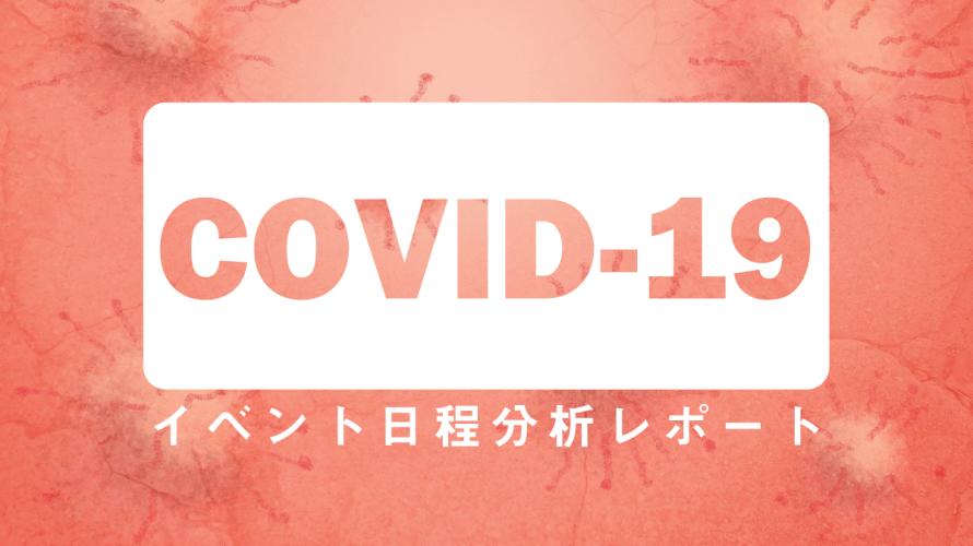 COVID-19の影響レポート  ~イベント中止はいつ意思決定されたのか?~
